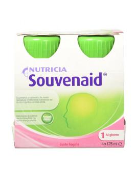 SOUVENAID  FRESA 125 ML  4 BOTELLAS