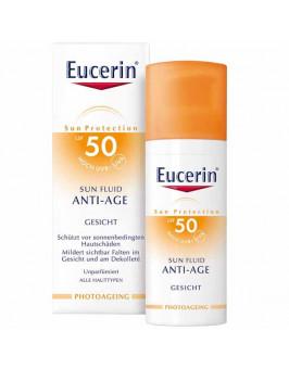 EUCERIN SUN PROTECTION 50 SUN FLUID ROSTRO A-AGE  50 ML