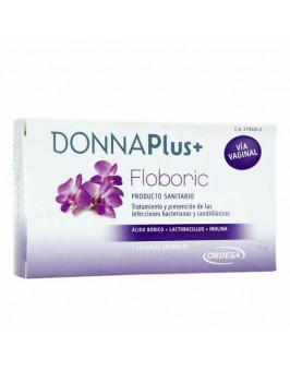 DONNA PLUS + FLOBORIC CAPSULAS VAGINALES  7 CAPSULAS VAGINALES