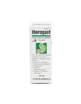IBEROGAST GOTAS ORALES EN SOLUCION 1 FRASCO 20 ML