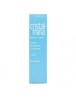 CRISTALMINA 10 MG/ML SOLUCION CUTANEA 1 FRASCO 125 ML