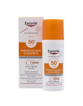 EUCERIN SUN PROTECTION 50+ CC CREME PHOTOAGING CONTROL 50 ML