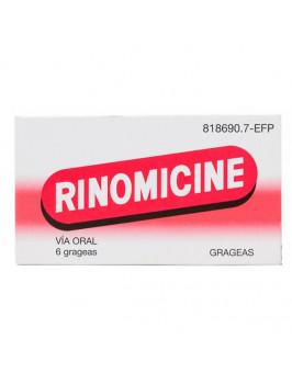RINOMICINE 6 COMPRIMIDOS RECUBIERTOS