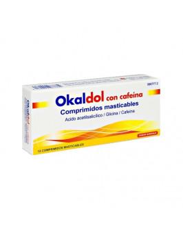OKALDOL CON CAFEINA 12 COMPRIMIDOS MASTICABLES