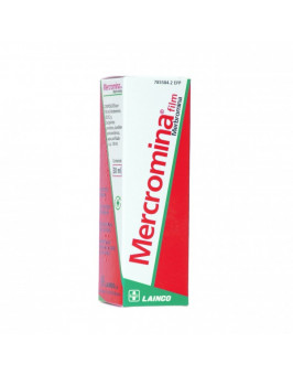 MERCROMINA FILM 20 MG/ML SOLUCION CUTANEA 1 FRASCO 30 ML