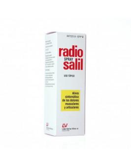 RADIO SALIL AEROSOL CUTANEO EN SOLUCION 1 ENVASE 130 ML
