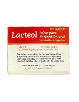 LACTEOL 10 SOBRES POLVO PARA SUSPENSION ORAL