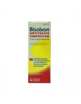 BISOLVON ANTITUSIVO COMPOSITUM 3 MG/ML + 1,5 MG/ML SOLUCION ORAL 1...