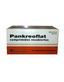 PANKREOFLAT 172 MG/80 MG 50 COMPRIMIDOS RECUBIERTOS