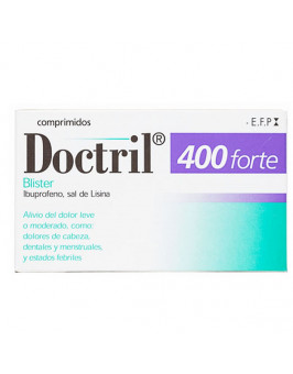 DOCTRIL FORTE 400 MG 10 COMPRIMIDOS RECUBIERTOS