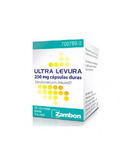 ULTRA-LEVURA 250 MG 20 CAPSULAS (FRASCO)